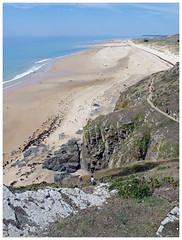 Barneville-Carteret (abac077) Tags: barnevillecarteret manche normandie normandy cotentin france 2019 falaise cliff plage beach sea mer paysage landscape