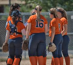 Girls Softball Team (Scott 97006) Tags: girls females sport team unifoems woman gloves