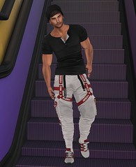 STYLE107 (kursadlethalsmile) Tags: fun fence coth5 mancaveevent mancave gianni signature firestorm secondlife geralt belleza catwa maitreya fashionnatic menblogger meanblogger jake legacy secondlifeevent