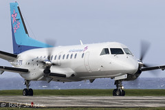 E5-EFS SAAB 340A Air Rarotonga Rarotonga airport NCRG 14.12-19 (rjonsen) Tags: plane airplane aircraft aviation airliner airside turboprop avgeek runay