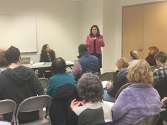 "Tanya Bradsher, chief of staff, speaking with Falls Church Dems • <a style=""font-size:0.8em;"" href=""http://www.flickr.com/photos/117301827@N08/49414983131/"" target=""_blank"">View on Flickr</a>"