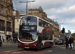 Photo of Lothian 387 SN11EDR Edinburgh 28 October 2019