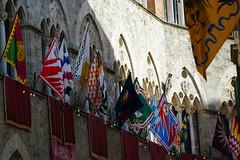 Toskana - Siena 2019 - Palio dell'Assunta (PictureBotanica) Tags: italien italy toscana toskana siena reise event palio flagge