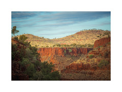 Dales Gorge in the Australian Outback (Kevin Rheese) Tags: hdr westernaustralia dales border karijini outback nationalpark pilbara landscape gorge australia