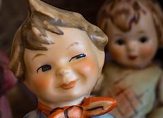 Figurine (ertolima) Tags: ceramic macromondays hummel figurine painted porcelain