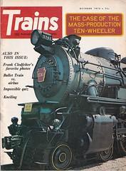 Trains Magazine (heytampa) Tags: trainsmagazine cover locomotive 1973 train