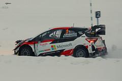 Kalle Rovanperä, Toyota Yaris WRC (Vikuri) Tags: arctic lapland rally rovaniemi suomi finland 18th 2020 january ralli rallism rallying rallycar motorsport racing speed canon kalle rovanperä toyota yaris yariswrc gazooracing wrc