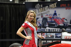 LA Auto Show 2013 (Formerly known as Bigbend700) Tags: laautoshow losangelesautoshow car auto show carshow autoshow california 2013 fun cool nice custom vintage socal hotrod fast color beautiful classic conventioncenter new losangeles grandprix misstoyota model woman gal pretty red winner