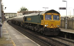 66622 Greenhithe (localet63) Tags: class66 freightliner 6o00 66622 greenhithe bogietanks kent