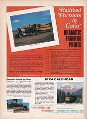 Trains Magazine (heytampa) Tags: trainsmagazine ad advertisement 1973 vanishingvistas