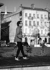 DSCF4497 (LexomIA) Tags: bordeaux street urbain bw nb streetphotography