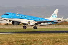 PH-EXC (GH@BHD) Tags: phezc embraer erj190 embraererj190100std klmcityhopper belfast city airport erj e190 kl klm royaldutchairlines bhd egac belfastcityairport regionaljet aircraft aviation airliner