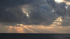 Sunset (2007Plumeriya) Tags: sea sunset clouds waves 104 spotlight