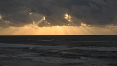 Waves (2007Plumeriya) Tags: sea sunset clouds waves сс raysofthesun