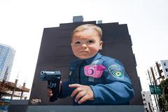 Baby With a Handgun (ladyjaysfc) Tags: bip mural sanfrancisco