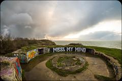 MESS MY MIND (nARCOTO) Tags: blockhaus normandie normandy graffiti graff graffitis