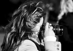 The woman photographer profile (pedrosimoes7) Tags: fotógrafo fotoderua photographer street streetimages streetshot streetlife streetlight blackandwhite blackwhite blackandwhiteonly belem lisbon portugal bestportraitsaoi