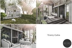 Scarlet Creative - Trinity Cabin - New at Shiny Shabby (Scarlet Creative Architecture) Tags: shinyshabby scarletcreative secondlife