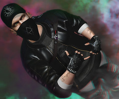 UNCIVILIZED ! (Burak Ghosteffect) Tags: amias stunner originals ghostfx skin shape jacket cap bag glove event mom secondlife style man woman