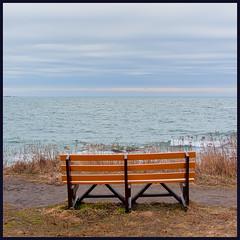 Sea View (Timothy Valentine) Tags: ocean large bench sachuestpoint sky 0120 2020 monday middletown rhodeisland unitedstatesofamerica