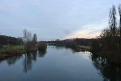 Landschaft Winter (Las Cuentas) Tags: landschaft landscape wasser fluss river winter januar ruhr die kemnade blankensteinruhr
