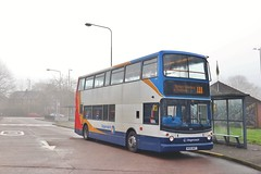 Stagecoach Manchester 18325 MX05WHT - Southern Cemetery (KA Transport Photography) Tags: stagecoach manchester 18325 mx05wht southern cemetery