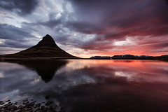 Kirkjufell III (winterlight photography) Tags: europa europe dewintervanrossem travel island iceland european adventure scandinavia kirkjufell scandinavian adventurer icelandic adventurous northerneurope snaefellsnespeninsula grundarfjordur vesturland morning monument nature night landscape dawn colorful natural environmental nopeople landmark nighttime ethereal mirrored environment colourful climate seascape reflection travelling tourism silhouette sunrise scenery sightseeing nobody scene tourist touristic winterlightphotography karindewinter jovanrossem