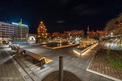 Pärnu jõulutuled (BlizzardFoto) Tags: rüütliplats rüütlisquare plats square jõulupuu christmastree jõulukuusk jõulutuled christmaslights jõulukaunistused christmasdecorations jõuluvalgus pärnu visitpärnu visitestonia longexposure nightphotography sonya7iii sony1224f4g