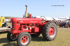 1955 International (Farmall) 400 Row-crop Tractor (Gerald (Wayne) Prout) Tags: farmall400rowcroptractor tractor 1955 antique engine international 400 annual 33rd swapmeet rowcrop 33rdannualantiqueengineandtractorswapmeet internationalfarmall400rowcroptractor 1955internationalfarmall400rowcroptractor camera usa digital canon eos florida dslr prout polkcounty fortmeade 60d canoneos60d canonlensefs18135mmf3556is geraldwayneprout floridaflywheelersantiqueengineclub county lens photography fort photographed meade polk stateofflorida efs18135mmf3556is farm farming machine equipment machinery vehicle agriculture agricultural