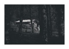 The refuge (RuiFAFerreira) Tags: bw black blackwhite canon dark exterior ef75300mmf456 light mood monochromat monochrome national portugal park shadow refuge