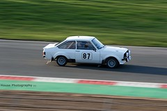 Ford Escort MKII RS1800 ({House} Photography) Tags: winter rally stages brands hatch uk kent fawkham circuit track tarmac car automotive race racing motor sport motorsport housephotography timothyhouse canon 7d mk2 ford escort rs1800