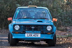 Ford Escort Mk2 - De Garston ({House} Photography) Tags: winter rally stages brands hatch uk kent fawkham circuit track tarmac car automotive race racing motor sport motorsport housephotography timothyhouse canon 7d mk2 ford escort