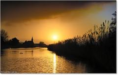 North Holland Sunrise (De Hollena) Tags: paysage landschaft landscape sunrise amanecer sonnenaufgang oudendijk noordholland northholland nordholland thenetherlands lespaysbas paisesbajos niederlande holland nederland