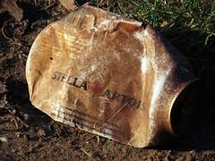 IMG_0176 (Nomadic Mark) Tags: fleetpond food places rubbish manmade uk hampshire beer alcohol drinks stellaartois