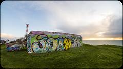 BLOCK (nARCOTO) Tags: blockhaus normandie normandy graffiti graff graffitis
