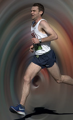 Running in a Vortex (Scott 97006) Tags: man guy male athlete runner race vortex