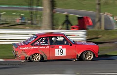 Ford Escort Mk2 - Mewett-Jordan ({House} Photography) Tags: winter rally stages brands hatch uk kent fawkham circuit track tarmac car automotive race racing motor sport motorsport housephotography timothyhouse canon 7d mk2 ford escort