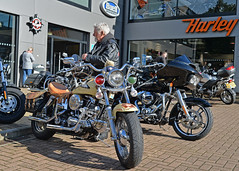 Mick the Badge.. (Harleynik Rides Again.) Tags: shovelhead special hd harleydavidson biker rider motorcycle harleynikridesagain
