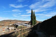Camino del castillo de Arnedo (kirru11) Tags: camino vistas paisaje monte peña árboles cielo casas pabellones fábricas arnedo larioja españa kirru11 anaechebarria canonpowershot