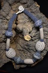 Jan Necklace B (bjmaiee) Tags: needlefelting needlefelt wetfelting wetfelted necklace boho fiberjewelry jewelry accessories textilejewelry artistmade artyouwear ooak wool merino tafa ebsq harlan needlefeltingtothepoint