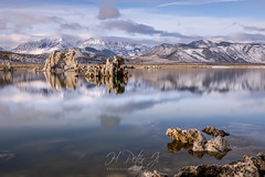 Time to move onto the next spot (ScorpioOnSUP) Tags: a7riv california christmasday christmasday2019 easternsierra monolake mtwarren sierranevada sonya7riv sonyalpha southtufa tufatowers chasinglight chasingsunrise clouds lake landscape landscapephotography longexposure mountains reflections rockformations solitude sunlight sunrise winter