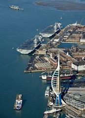RX301153 (Andy Amor) Tags: pompey warship hms warrior ferry uhaf basin dockyard
