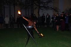 2018-11-07_22-17-46_Pentax_JH (Juhele_CZ) Tags: mikulov moravia czechrepublic fire flames fireswallower fireeater performance night art burn motion