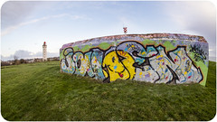 CAP DE LA HèVE (nARCOTO) Tags: blockhaus normandie normandy graffiti graff graffitis