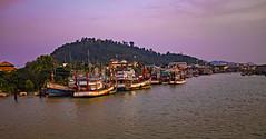 Los bordes del paraiso (Nebelkuss) Tags: tailandia thailand golfodetailandia thailandgulf twilight ocaso fujix100t asia