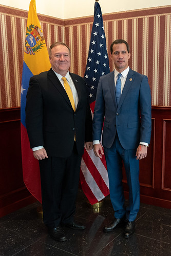 Pompeo Meets with Juan Guaid: Nothing fundamentally changed., From FlickrPhotos