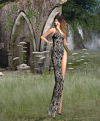 LuceMia - ::: WILD ::: Fashion & Beauty (2018 SAFAS AWARD WINNER - Favorite Blogger -) Tags: wildfashionbeauty designershowcase event shoes dress gown swan pumps sl new secondlife mesh fashion creations blog beauty hud colors models lucemia marketplace