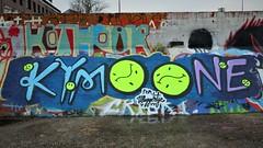 Kymo One / Dok Noord - 20 jan 2020 (Ferdinand 'Ferre' Feys) Tags: gent ghent gand belgium belgique belgië streetart artdelarue graffitiart graffiti graff urbanart urbanarte arteurbano ferdinandfeys kymoone