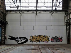 Klaas Van der Linden / Quatch / Toy / somewhere - 20 jan 2020 (Ferdinand 'Ferre' Feys) Tags: gent ghent gand belgium belgique belgië streetart artdelarue graffitiart graffiti graff urbanart urbanarte arteurbano ferdinandfeys