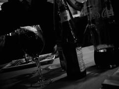 8047 - Dutsch angle (Diego Rosato) Tags: dutsch angle angolo olandese bottiglia bottle birra beer cocke coca cola limone lemon glass vetro tavola table still life bianconero blackwhite fuji x30 rawtherapee